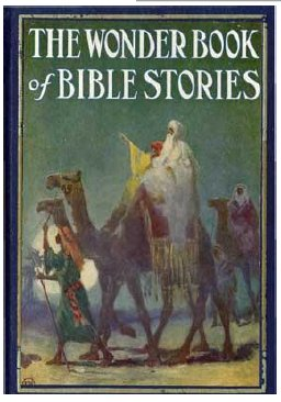 The Wonder Book of Bible Stories cover