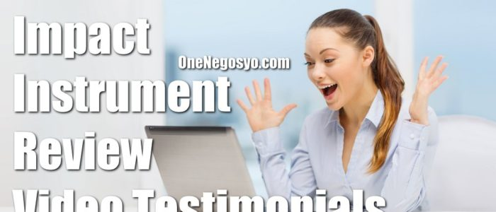 Impact Instrument Reviews – Video Testimonials