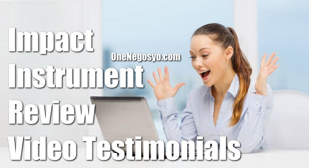 Impact Instrument Review Video Testimonials